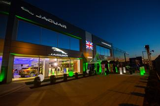 Inauguration Garage Jaguar et Land Rover
